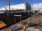 飯能市 道路拡幅に伴うブロック塀の解体